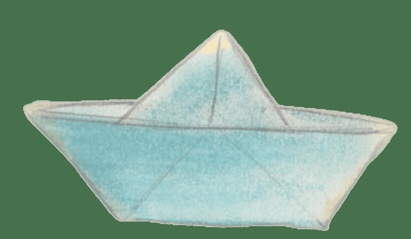 סירה מנייר